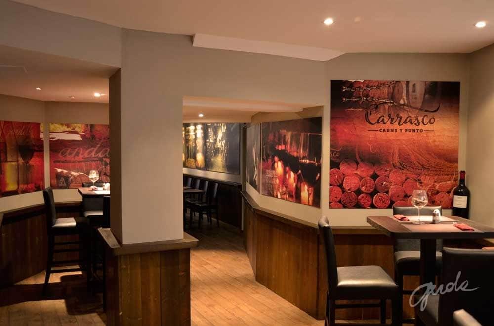 Restaurant in Hamburg - Interior designer Gerda Sutkienė